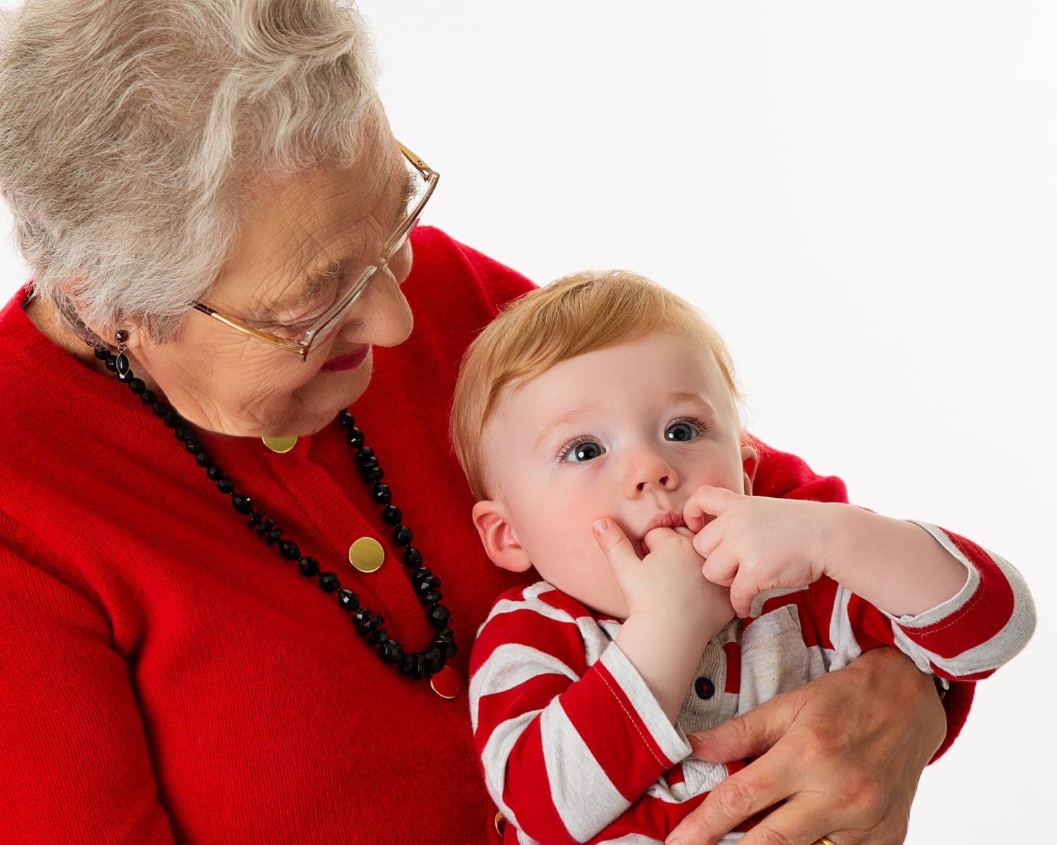 great grandmother & great grandson photography generation
