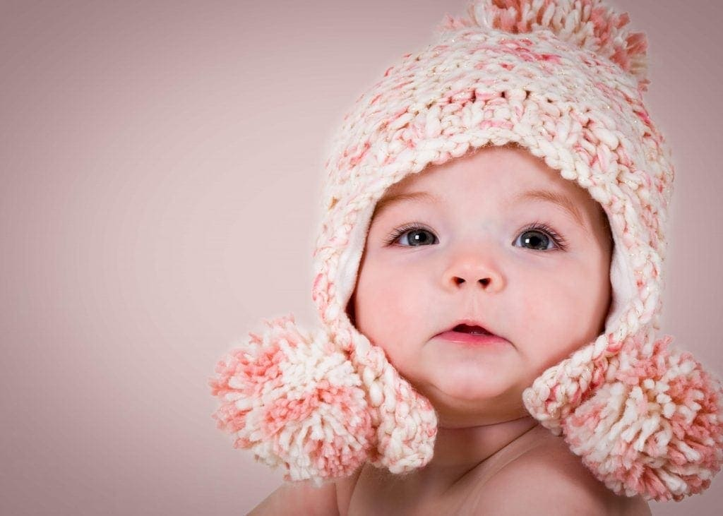 pretty in pink hat baby photography ellesmere port