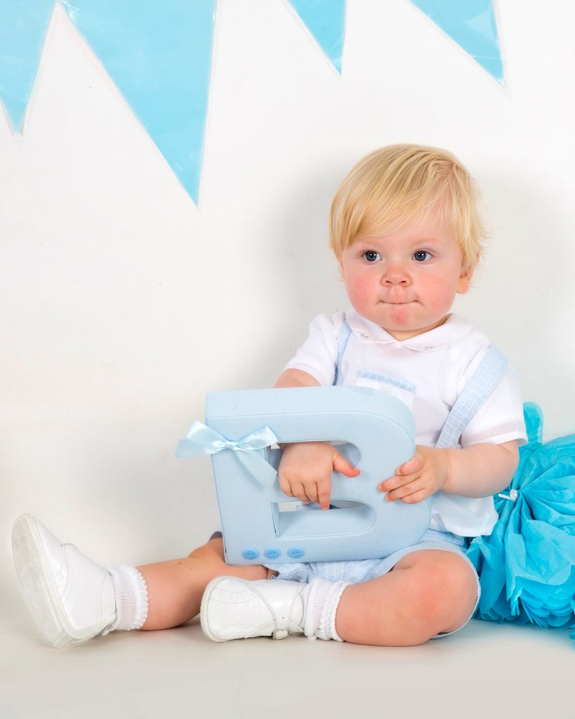 baby first year photo shoot
