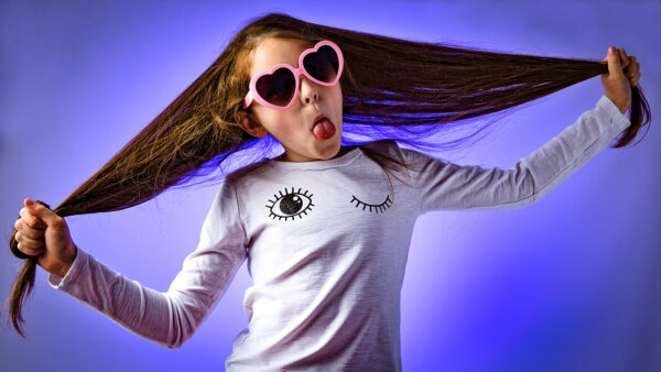 cool children photo purple background Sarah Offley Ellesmere Port