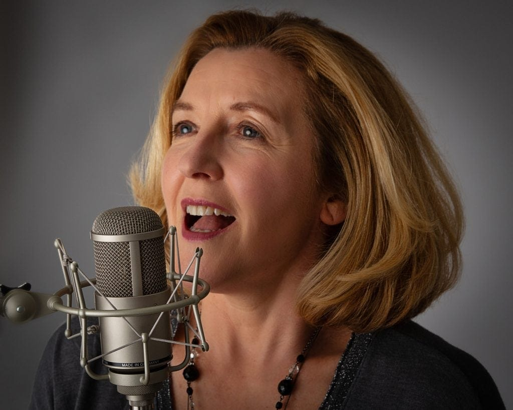 vocal coach & singer headshot wirral offley photography