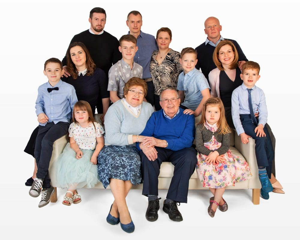 family generations portraits