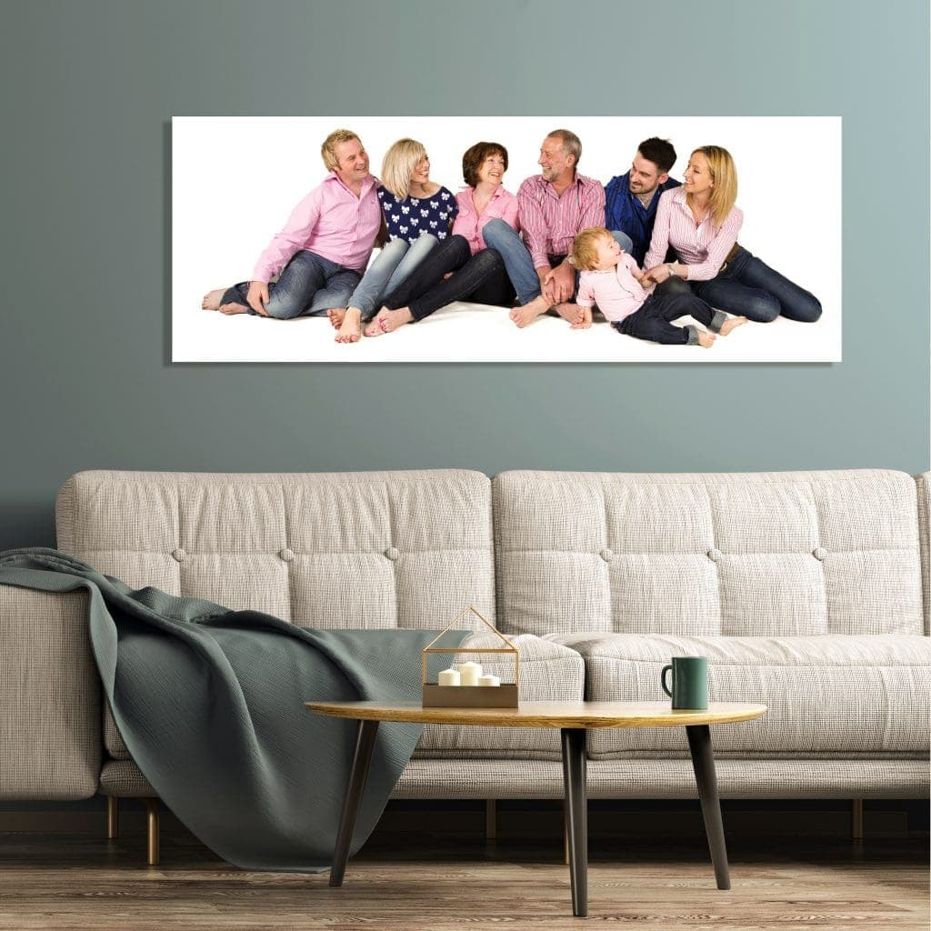 family portrait session box frame offley photography products