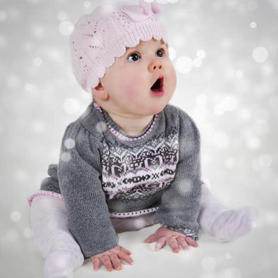 baby first Christmas photo offley photography