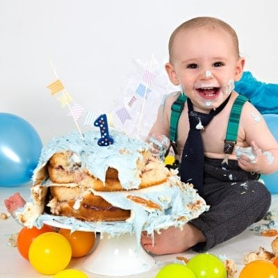 cake smash photo shoot wirral offley photography