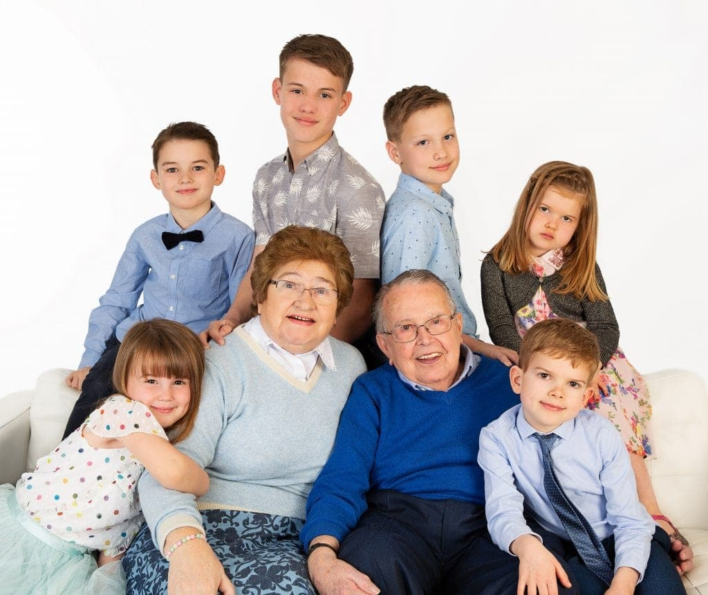 family generation photography