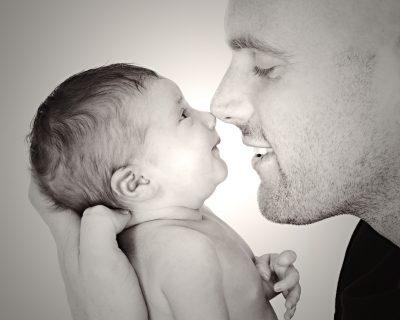 cherished newborn photograph